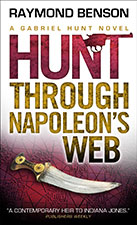 The Hunt Through Napoleon's Web by Raymond Benson